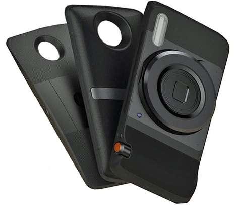 Interchangeable Accessory Smartphones