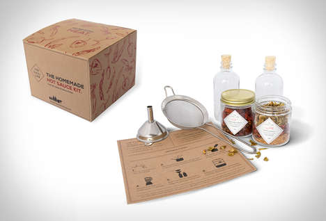 Artisanal Sauce-Making Kits - The W&P Hot Sauce Kit Lets Consumers Brew Their Own Spicy Condiments