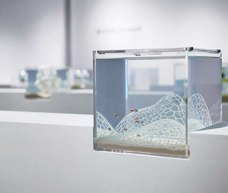 3D-Printed Aquariums