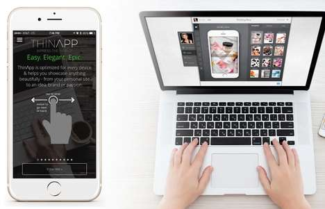 Simple App Creation Programs - The 'ThinApp' Mobile App Framework Makes Creating an App Easy