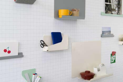 Sleek Wall Storage Accessories