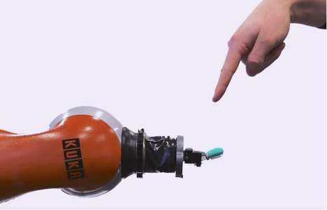 Pain-Sensing Robots - Researchers are Testing a Nervous System Stimulation for Robots to Feel Pain