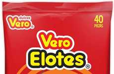 Street Food-Inspired Candies - The Vero Elotes Lollipop Candy is Inspired by the Mexican Street Food