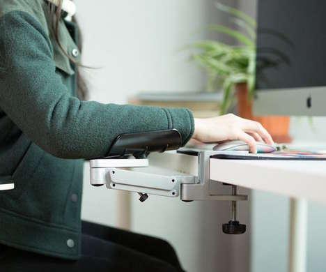 Posture-Improving Desk Arm Supports