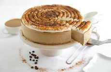 Caffeinated Cappuccino Cheesecakes - This Cheesecake Recipe Replicates the Hot Coffee Beverage Taste