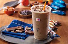 Candy-Flavored Coffees - Dunkin' Donuts is Offering Iced Coffees Flavored as Almond Joy Chocolates