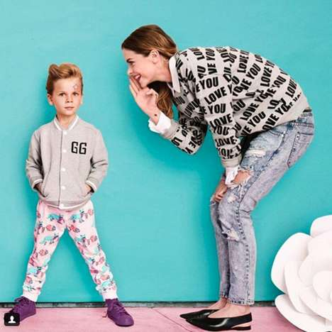 Gender-Fluid Kid's Collections - Jaime King Will Be Launching a Gender Neutral Clothing Line