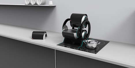 Micro Cooking Appliances - The 'Axis' 3D Cooking System is a Compact Solution for Small Kitchens