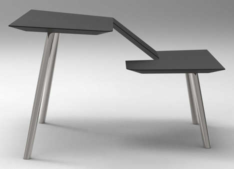 Simplistic Hybrid Office Desks