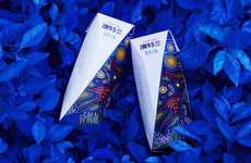 Whimsical Milk Packaging - The ALTIPLANO Milk Brand Blends Australian and Asian Aesthetics