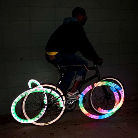 LED Bike Spoke Lights