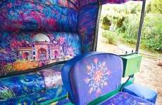 Refurbished Auto-Rickshaws - The Taxi Fabric Project is Now Furbishing Rickshaws