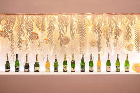 Feminine Champagne Bars