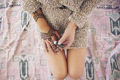 DIY Henna Tattoo Kits