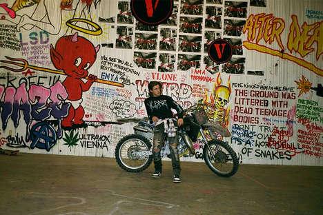 Punk-Inspired Rapper Streetwear