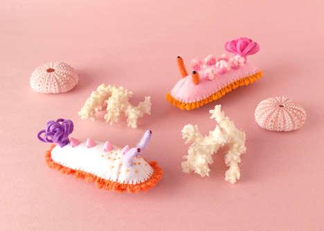 Quirky Handmade Felt Toys