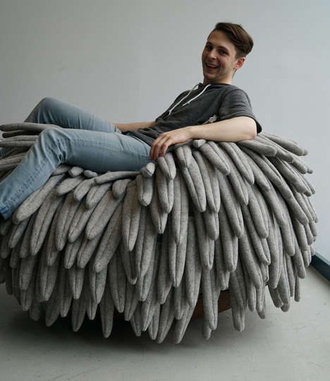 Oversized Feather Chairs