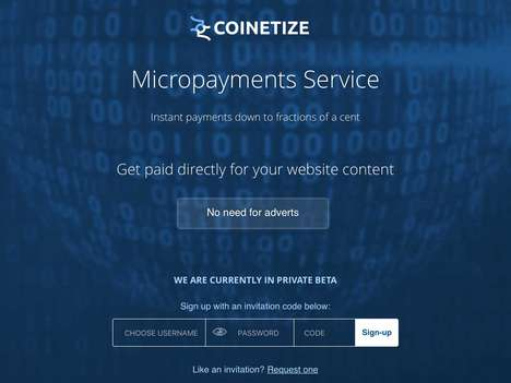 Web Content Micropayment Services
