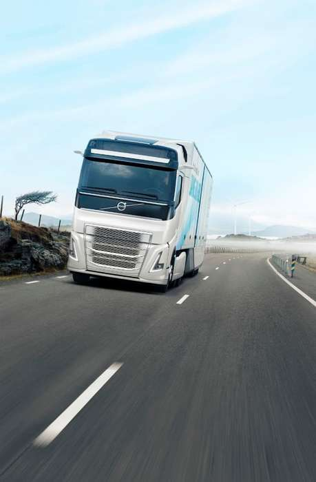 Efficient Aerodynamic Shipping Trucks