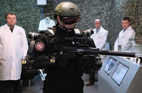Humanoid Military Robots - 'Ivan the Terminator' is a Powerful Military Android from Russia