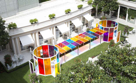 Kaleidoscopic Hotel Designs