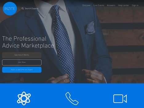 Professional Advice Marketplaces