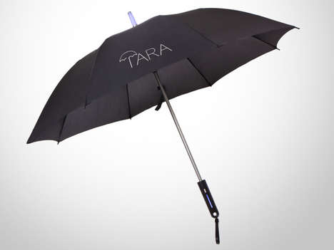 Weather-Forecasting Umbrellas