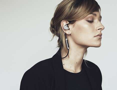 Fashion Technology Earphones - The 'EOZ One' Stylish Headphones are Catwalk-Ready