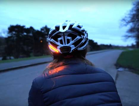 Turn Signal Safety Helmets