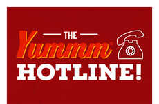 Grilling-Related Hotlines - 'The Yummm Hotline' Was Designed for Solving Burger-Grilling Issues