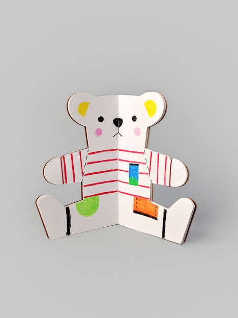 Bear-Shaped Notebooks