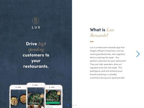 Upscale Dining Reward Apps