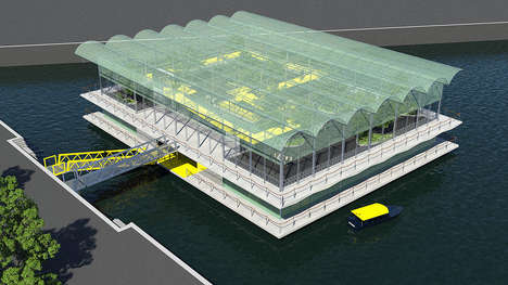 Floating Dairy Farms