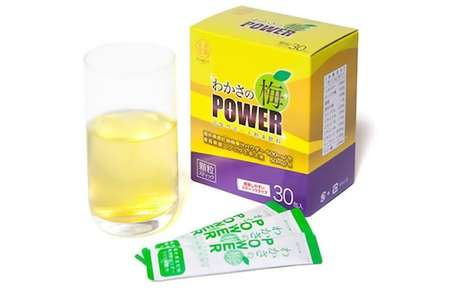 Pungent Energy Powders - The Portable Wakasa Japanese Drink Revives the Body with Garlic and Apricot