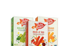 Probiotic Puree Popsicles