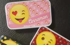 Emotive Mint Tins - AmuseMints' Breath Mint Tins are Decorated with Playful Emoji Icons