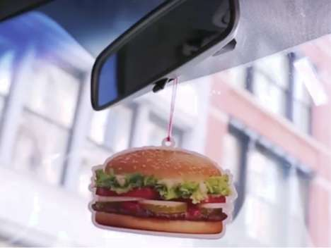 Branded Burger Air Fresheners
