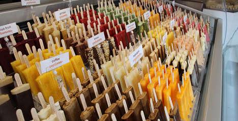 Gelato Popsicle Bars