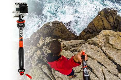 POV Selfie Sticks - The Spivo Smartphone Accessory Captures 180-Degree Photos