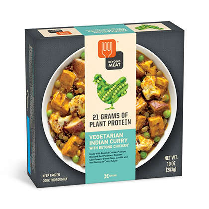 Plant-Based Meal Kits - Beyond Meat's Single-Serve Vegan Meals are Rich Sources of Plant Protein