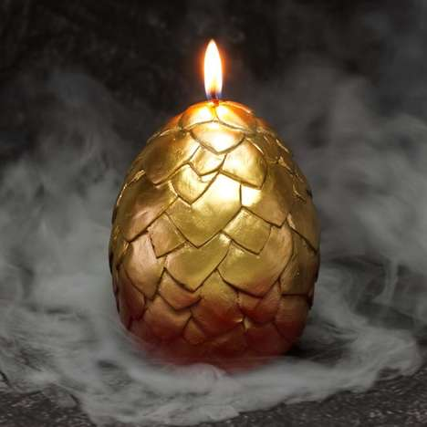 Dragon Egg Candles