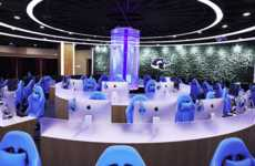 High-End Internet Cafes - 'Wangyu e-Sports' is a Hybrid Internet Cafe for Avid Gamers