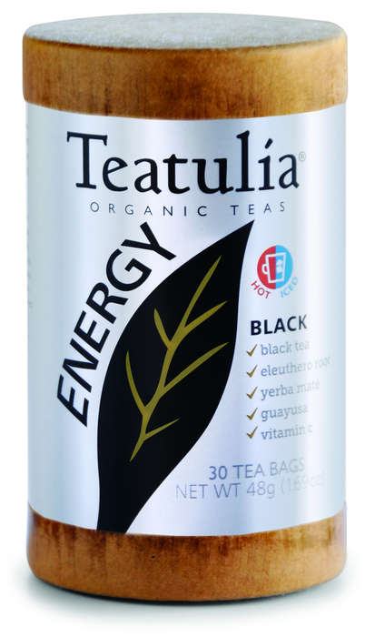 Energizing Tea Blends - Teatulia Makes Antioxidant-Rich Black, Red and Green Tea for Energy