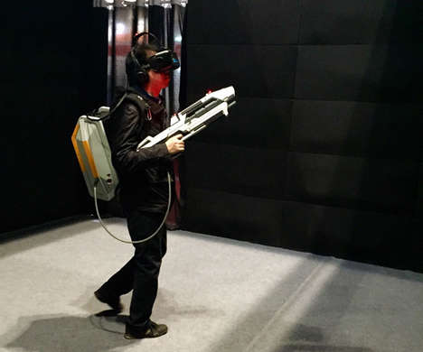 VR Shooter Games - 'VR Shoot' is an Immersive Video Game That Makes Use of Room-Scale Tracking