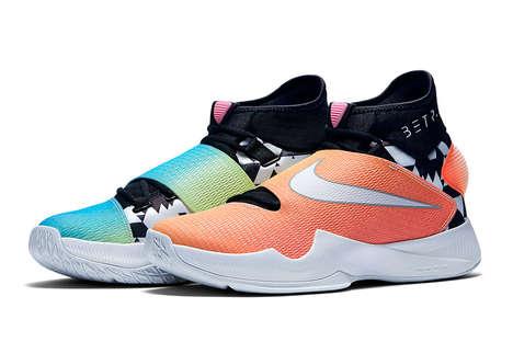 Pride-Celebrating Basketball Shoes