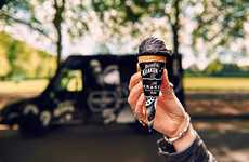 Black Ice Cream Parlors - 'The Kraken I Scream' Van Doles Out Dark Ice Cream Treats