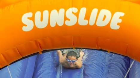 Sun Protection Slides - Nivea's 'Sunslide' Encourages Beach Sun Protection in a Fun Way