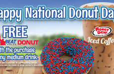Charitable Donut Promotions - This Chain is Giving Away Free Donuts in Honor of National Donut Day