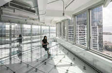 Renovated Transparent Offices