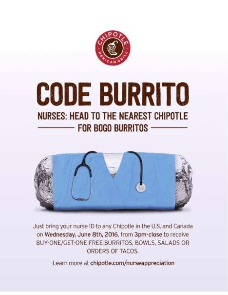 Appreciative Burrito Promotions